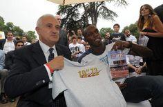 Pietro Mennea with Usain-Bolt