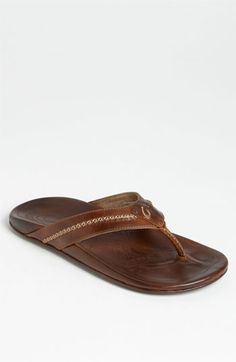 OluKai 'Mea Ola' Flip Flop (Men) available at #Nordstrom