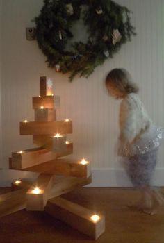 ORIGINAL, SENCILLO Y HERMOSO Otro tipo de decoración para navidad