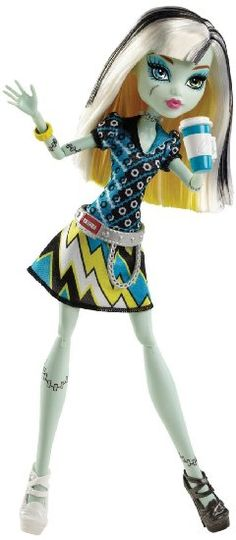 Monster High Coffin Bean Frankie Stein Doll