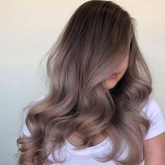 30 Balayage Hairstyles Trends With Highlight Variants Hairstyles Pictures Ombre Hair, Brown Hair Balayage, Brown Blonde Hair, Brown Hair With Highlights, Hair Color Balayage, Brunette Hair, Balayage Hairstyle, Ash Ombre, Ashy Hair