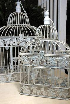 Large Wedding Birdcage Card Box / Birdcage / by UgarteDesign