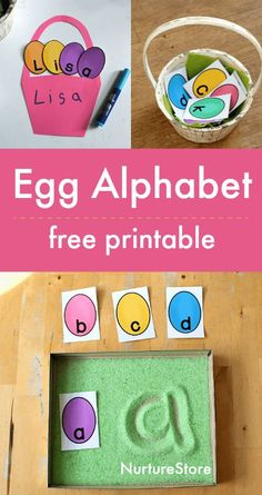 egg alphabet printable free, easter alphabet activities, spring literacy, spring letter activities