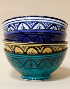 Moroccan Ceramic Bowls