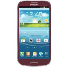 Samsung Galaxy S III 4G Android Phone, Red (AT