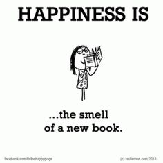 Image result for new book smell