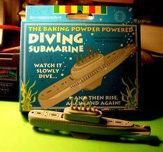 baking soda submarine