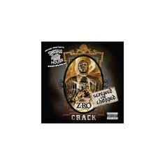 Z-Ro - Crack (Chopped & Screwed) [Explicit Lyrics] (CD)