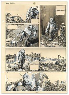 TBEO Y NO LO CREO · COMICS: RICHARD CORBEN DESCASE EN PAZ Les Miserables, Heavy Metal, Comic Layout, Marvel, Comic Covers, Artwork, Love Signs, Rest In Peace, Super Powers