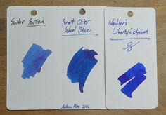 Robert Oster School Blue | Inkdependence!