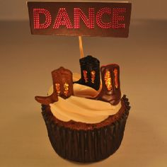 Cupcakes in costume - Footloose