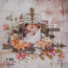 Scrapbook Blog, Scrapbook Sketches, Scrapbook Page Layouts, Scrapbook Cards, Scrapbooking Ideas, Photo Layouts, Smash Book Pages, Paper Bag Album, Image Layout