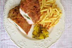A collection of recipes from around the world: Kiev chicken Ingredients :4 pieces of chicken brea...