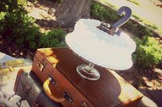 Living Life Abundantly: Vintage Train Birthday Party - use a Sam's Club cake and add a DIY topper ($14!!)