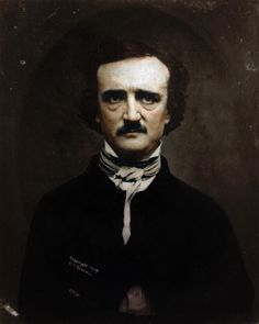 Colorized History - Edgar Allan Poe master of horror fiction in color