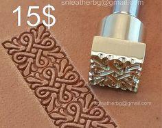 Outils pour l'artisanat en cuir. Timbre #43