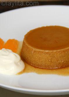 Easy pumpkin flan recipe (Dulce de Zapallo)