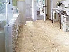 Resilient Resort Tile - 0189V - Sunlit Sand - Flooring by Shaw