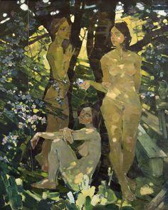 Garden. Flowering. 2015. oil on canvas. 120x100c. on Behance
