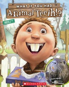 Click on the book cover to get the patterns for 7 of the animals teeth for opinion writing and craft.