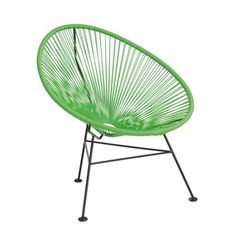Habitat Mika Rope Garden Chair - Green