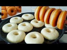 فطائر بالماء فقط بدون حليب بدون بيض اقتصادي بينيي مكيشربش نقطة زيت وخفيف ريشة فعلا رائع/بيني/البيني - YouTube Beignets, Crepes, Doughnut, Cooking, Cake, Ramadan, Donuts, Cooking Recipes, Bakery Business