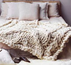 Free People knit blanket