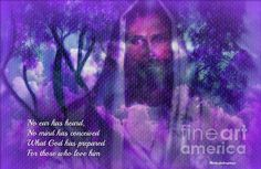Those Who Love Him by Sherri of Palm Springs #Jesus #inspirational #art