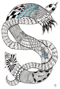 Chinese New Year Snake Coloring Pages
