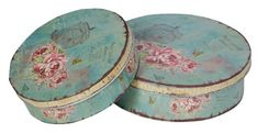 Shabby Chic Vintage Rose and Bird Cage Cake Tins a beautiful solid wood storage caddy for storing items around the home with vintage applique print Jar Storage, Storage Boxes, Bird Cage Cake, Shabby Chic Accessories, Dining Room Storage, Office Furniture Stores, Pretty Roses, Shabby Chic Homes, Metal Homes