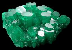 Emerald) from California / Mineral Friends Minerals And Gemstones, Rocks And Minerals, Bare Minerals, Cool Rocks, Beautiful Rocks, Stones And Crystals, Gem Stones, Crystal Castle, Mineralogy