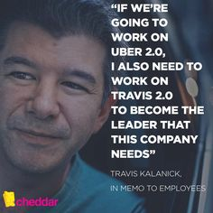 From Travis Kalanick, who told employees in an email that he's taking a leave of absence.  #Leadership #Uber #CEO #BIZBoost