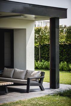 Outdoor Lounge Area   Architectenbureau Kabaz, Laren The Netherlands