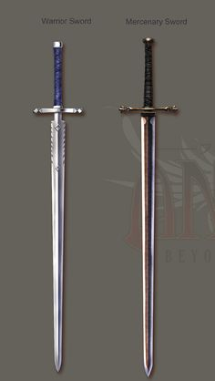 Long sword varients