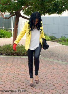 Need a yellow blazer