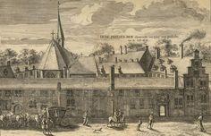 Prinsenhof, nu voor een gedeelte dienende tot Say-hof