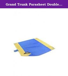 Grand Trunk Parasheet Double Beach Blanket BB-MIX. Most beach blankets are just that: blankets. Sand and dirt get ground into their fabric, and they always seem to get wet and mildewy-which is a terrible thing when you put them in your car trunk. So, Grand Trunk designed its multi-use Parasheet Beach & Picnic Blanket with super-durable parachute nylon. It stands up to all the abuse you and your family can throw its way, and it stays tidy and funk-free for years. You'll never go back to…