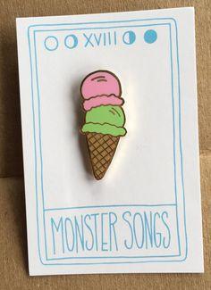 Double Ice Cream Scoop Pin - £5.33  https://www.etsy.com/uk/listing/233163536/double-ice-cream-scoop-pin
