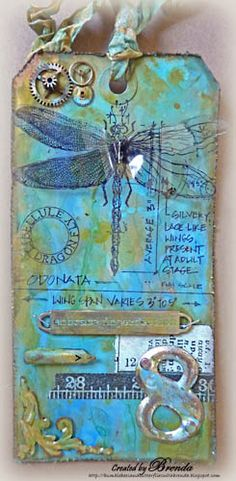 Tim Holtz April tag