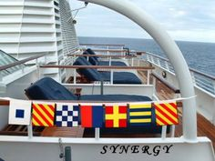 signal flag yacht banner decoration