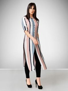 Simple Kurta Designs, New Kurti Designs, Kurta Designs Women, Kurti Designs Party Wear, Stylish Dress Designs, Designs For Dresses, Printed Kurti Designs, Stylish Kurtis Design, Dress Indian Style