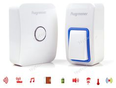 Augreener Wireless Cordless Battery-free Wireless Control Door Bell HHIHE-514784