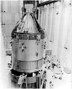 Apollo 13 Command and Service Module