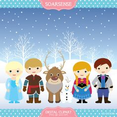 Frozen Snow Clipart