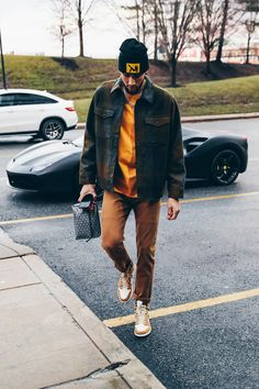 Street Fashion, Mens Fashion, Fashion Outfits, Casual Winter Outfits, Cool Outfits, Estilo Street, Style Masculin, Outfit Grid, Sharp Dressed Man