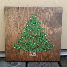 Hey, I found this really awesome Etsy listing at https://www.etsy.com/listing/251684286/made-to-order-string-art-sign-christmas