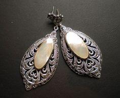 vintage earrings...if only my ears were pierced