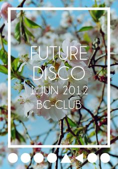 Future Disco Vol. 1-5 Flyer Re-Edits by David Figula via Behance