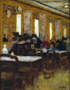 Edouard Vuillard - Le petit Restaurant