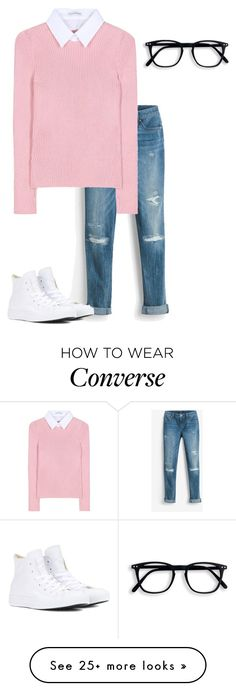 """""""Bored"""" by nycheart05 on Polyvore featuring White House Black Market, Altuzarra and Converse"""